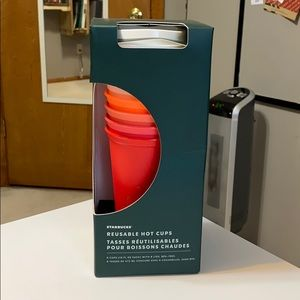 Starbucks Ombré Reusable Cup Set